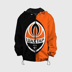 Куртка с капюшоном детская ФК Шахтер Донецк цвета 3D-черный — фото 1