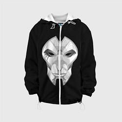 Детская 3D-куртка с капюшоном с принтом Black, цвет: 3D-белый, артикул: 10114906705458 — фото 1