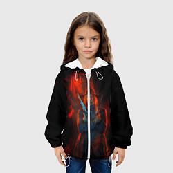 Куртка с капюшоном детская Wild Guns цвета 3D-белый — фото 2