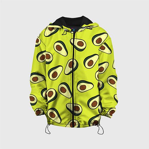 Детская куртка Стиль авокадо / 3D-Черный – фото 1