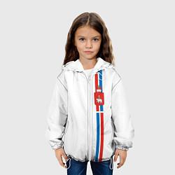 Куртка с капюшоном детская Пермский край цвета 3D-белый — фото 2