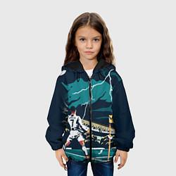 Куртка 3D с капюшоном для ребенка Ronaldo lightning - фото 2