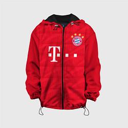 Куртка с капюшоном детская FC Bayern: Home 19-20 цвета 3D-черный — фото 1