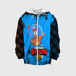 Куртка 3D с капюшоном для ребенка BRAWL STARS EL BROWN - фото 1