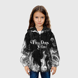 Куртка 3D с капюшоном для ребенка Three Days Grace - фото 2