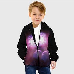 Детская 3D-куртка с капюшоном с принтом Five Nights At Freddy's, цвет: 3D-черный, артикул: 10211206905458 — фото 2