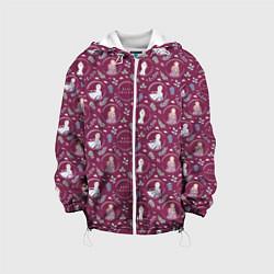 Детская 3D-куртка с капюшоном с принтом Холодное сердце 2, цвет: 3D-белый, артикул: 10253320305458 — фото 1