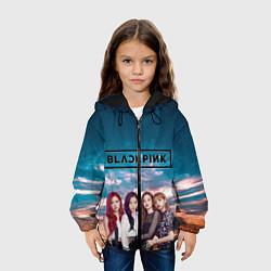 Детская 3D-куртка с капюшоном с принтом BlackPink, цвет: 3D-черный, артикул: 10267885505458 — фото 2