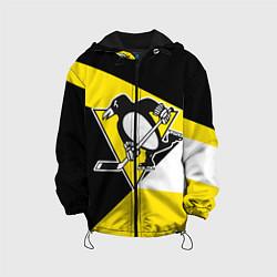 Куртка 3D с капюшоном для ребенка Pittsburgh Penguins Exclusive - фото 1