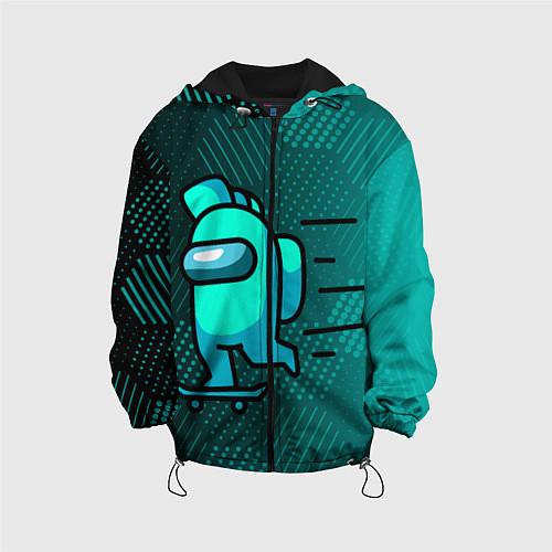 Детская куртка AMONG US / 3D-Черный – фото 1