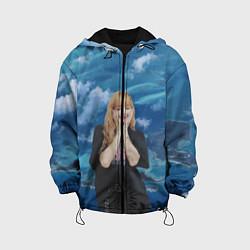 Детская 3D-куртка с капюшоном с принтом LISA BLACKPINK, цвет: 3D-черный, артикул: 10279745105458 — фото 1