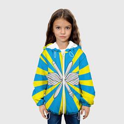 Куртка 3D с капюшоном для ребенка Флаг ВВС - фото 2