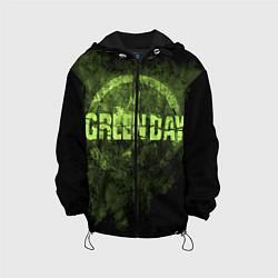 Куртка с капюшоном детская Green Day: Acid Voltage цвета 3D-черный — фото 1