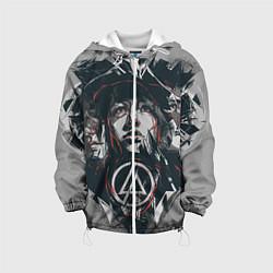 Детская 3D-куртка с капюшоном с принтом Linkin Park: My Style, цвет: 3D-белый, артикул: 10072701805458 — фото 1