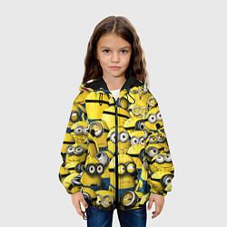 Куртка с капюшоном детская Minions цвета 3D-черный — фото 2