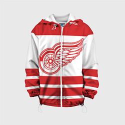Куртка 3D с капюшоном для ребенка Detroit Red Wings - фото 1