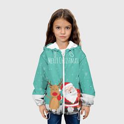 Куртка 3D с капюшоном для ребенка Merry Christmas - фото 2