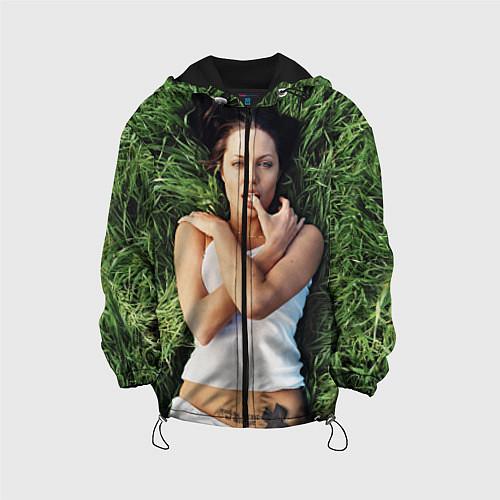 Детская куртка Анджелина Джоли / 3D-Черный – фото 1