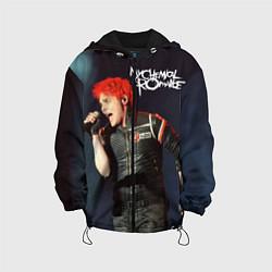 Куртка с капюшоном детская Gerard Way цвета 3D-черный — фото 1