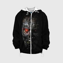 Куртка с капюшоном детская Терминатор: Генезис цвета 3D-белый — фото 1