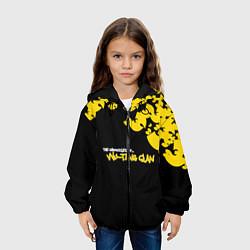 Детская 3D-куртка с капюшоном с принтом Wu-Tang clan: The chronicles, цвет: 3D-черный, артикул: 10097979505458 — фото 2