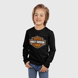 Лонгслив детский Harley-Davidson: Motor Company цвета 3D — фото 2