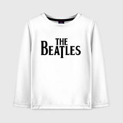 Лонгслив хлопковый детский The Beatles цвета белый — фото 1