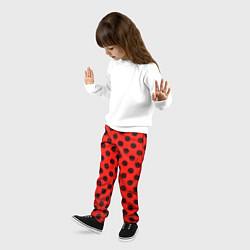 Брюки детские Леди Баг: узор цвета 3D — фото 2