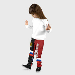 Брюки детские Kamchatka, Russia цвета 3D-принт — фото 2
