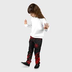 Брюки детские Стальной алхимик цвета 3D — фото 2