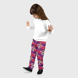 Брюки детские Белоснежка и Принц цвета 3D-принт — фото 2
