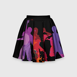 Детская юбка-солнце Танцы