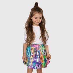 Юбка-солнце для девочки My Little Pony цвета 3D — фото 2