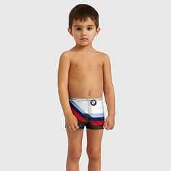 Плавки для мальчика BMW M SPORT цвета 3D — фото 2