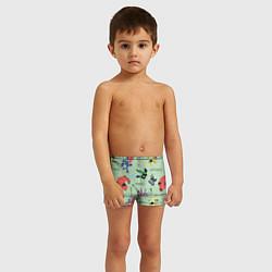 Плавки для мальчика Big Hero 6 цвета 3D — фото 2