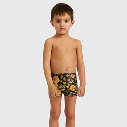 Плавки для мальчика Хохлома цвета 3D — фото 2