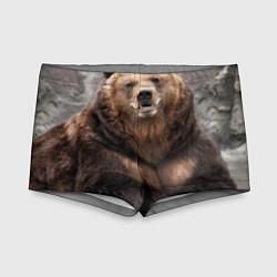 Плавки для мальчика Русский медведь цвета 3D — фото 1