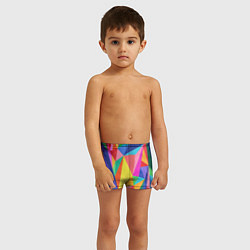 Плавки для мальчика Радуга цвета 3D — фото 2
