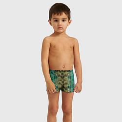 Плавки для мальчика Крокодил цвета 3D — фото 2