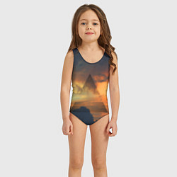 Купальник для девочки 30 seconds to mars цвета 3D — фото 2