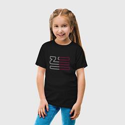 Футболка хлопковая детская Introducing Zhu цвета черный — фото 2