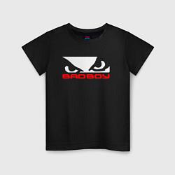 Футболка хлопковая детская BADBOY цвета черный — фото 1