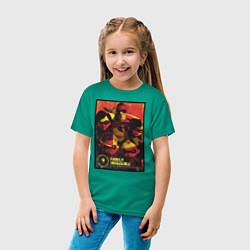 Футболка хлопковая детская The Incredibles цвета зеленый — фото 2