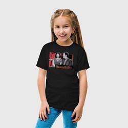 Футболка хлопковая детская WandaVision цвета черный — фото 2