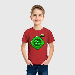 Футболка хлопковая детская Гаджет Генерала Гавса цвета красный — фото 2