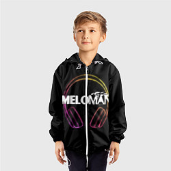 Ветровка с капюшоном детская Meloman цвета 3D-белый — фото 2
