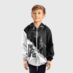 Ветровка с капюшоном детская The Last of Us: White & Black цвета 3D-белый — фото 2