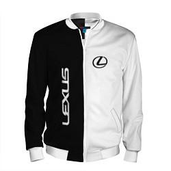 Мужской бомбер Lexus: Black & White
