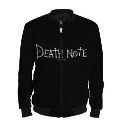 Бомбер мужской Death Note цвета 3D-черный — фото 1
