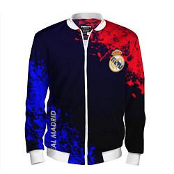 Мужской бомбер Real Madrid